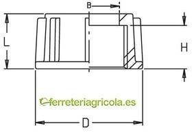 TUERCA GIRATORIA 2