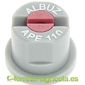 BOQUILLA CERÁMICA ALBUZ APE 110º RAJILLA