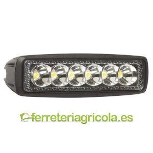 FARO DE TRABAJO RECTANGULAR LED 18W 1080lm