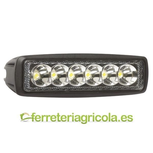 FARO DE TRABAJO RECTANGULAR LED 18W 1080lm