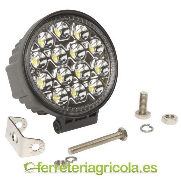 FARO DE TRABAJO REDONDO LED 42W 2520lm 60º