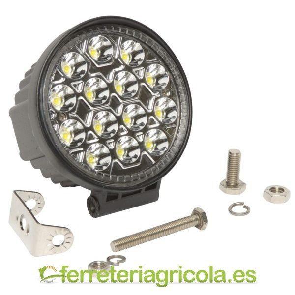FARO DE TRABAJO REDONDO LED 42W 2520lm 10º