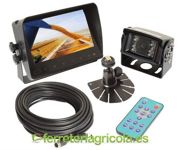 SISTEMA CAMARA VISION TRASERA LCD 7