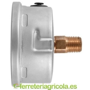 MANOMETRO GLICERINA POSTERIOR 100mm 0-60 bar