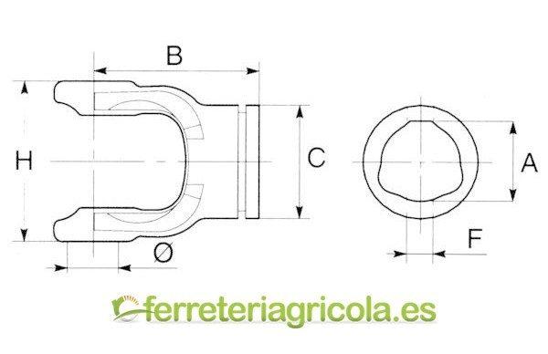 NUDO SIMPLE G1/G8 EXTERIOR BONDIOLI&PAVESI