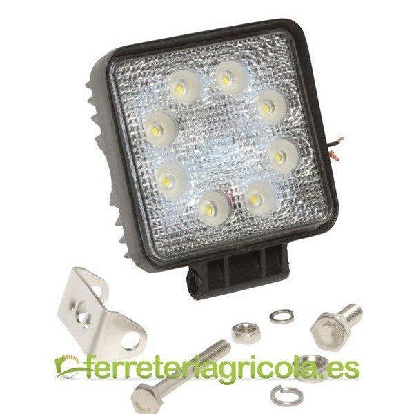 FARO DE TRABAJO CUADRADO LED 24W 1440lm 60º