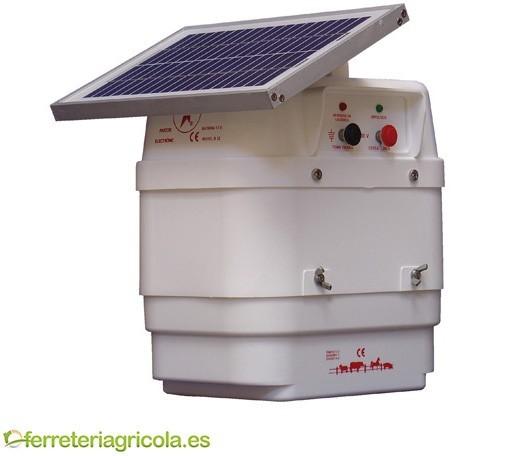 PASTOR ELÉCTRICO LLAMPEC MODELO B12S SOLAR 12V