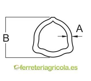 TUBO 3D TRANSMISION 26.5x4.0 mm